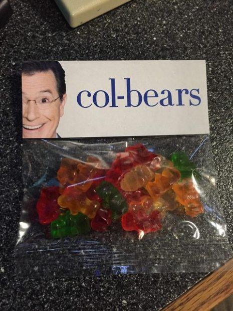 Stephen Colbert Gummy Bears