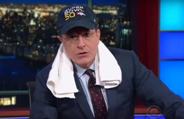 Stephen Colbert Super Bowl 50