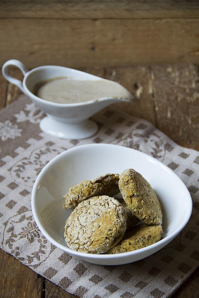 polpette di verdure e quinoa