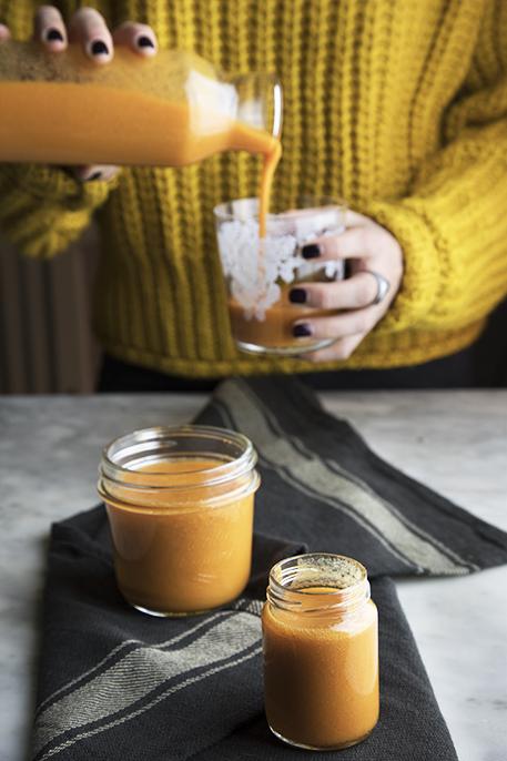Rimedi naturali raffreddore: lo smoothie dà la carica