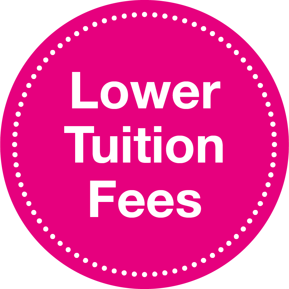 Lower Tuition Fees
