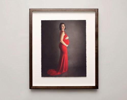 Maternity portrait