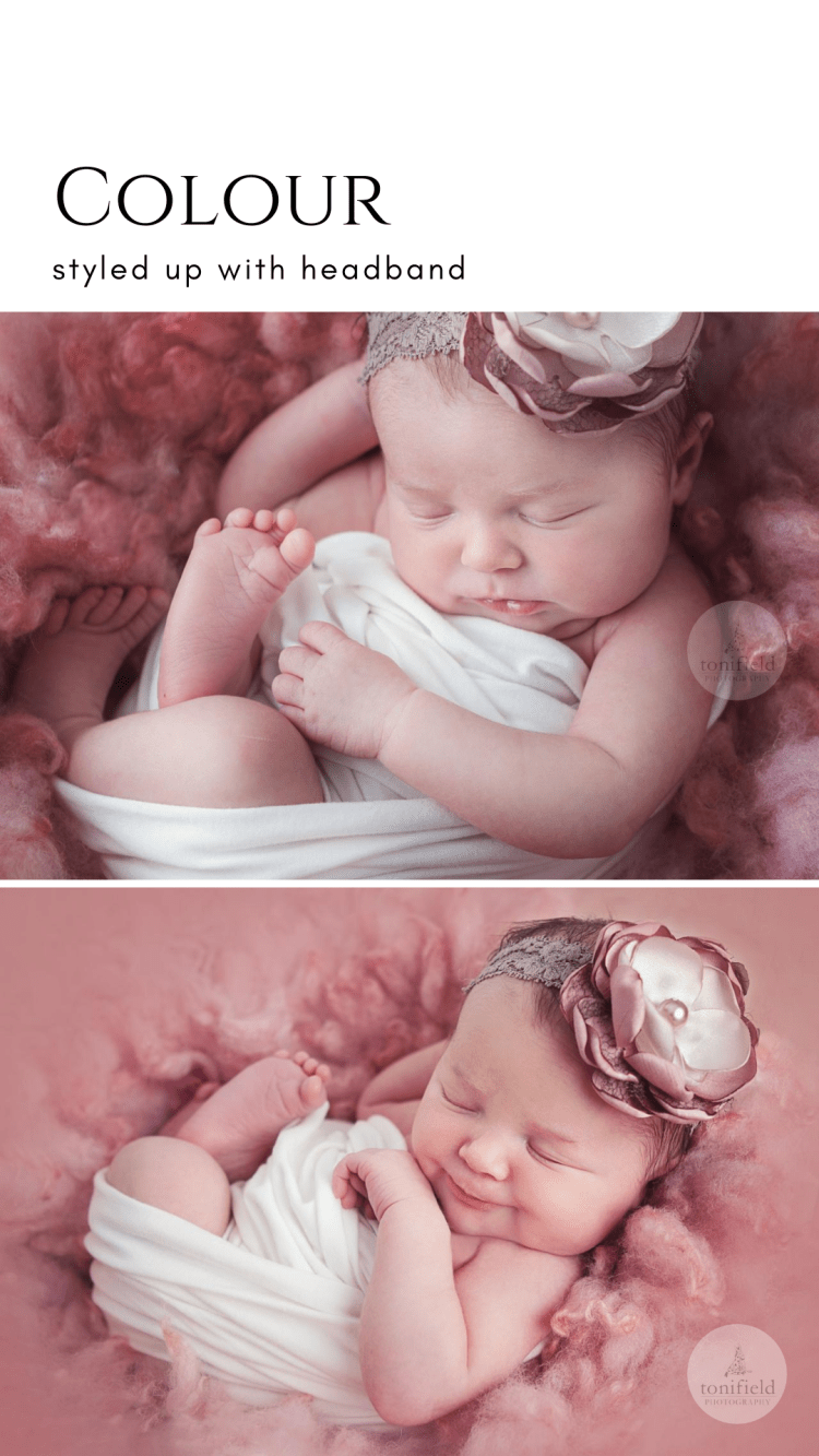 Amelia's Newborn Baby Photography