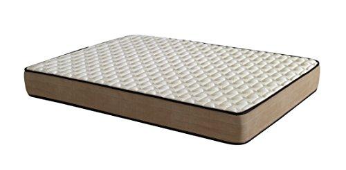 Royal Beds Bamboo Eco Fresh Colchón, Tela, Marrón, Matrimonial, 200x80x10 cm