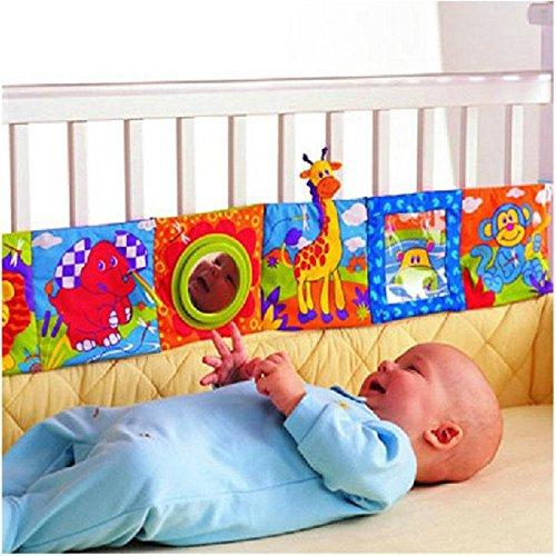 Vicky Livre dépliant en tissu pour lit de bébé
