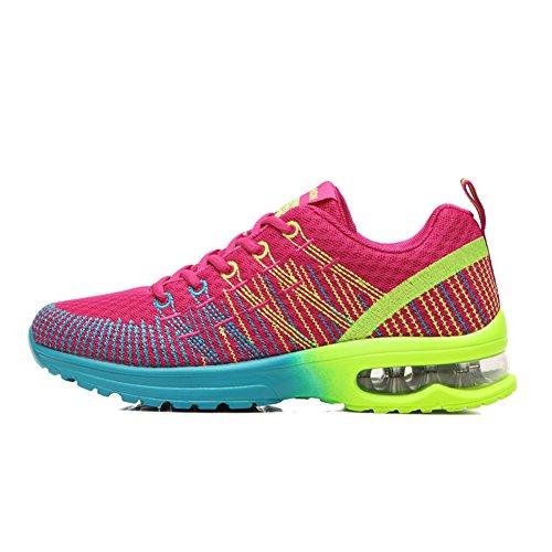 Zapatos de Colchón Aire Outdoor Deportes Unisexo Calzado Deportivo Running Zapatos Correr Entrenador Hombre Mujer