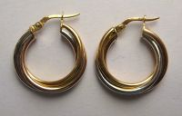 Small Thick Gold Hoop Earrings Thick Gold Hoop Earrings ...