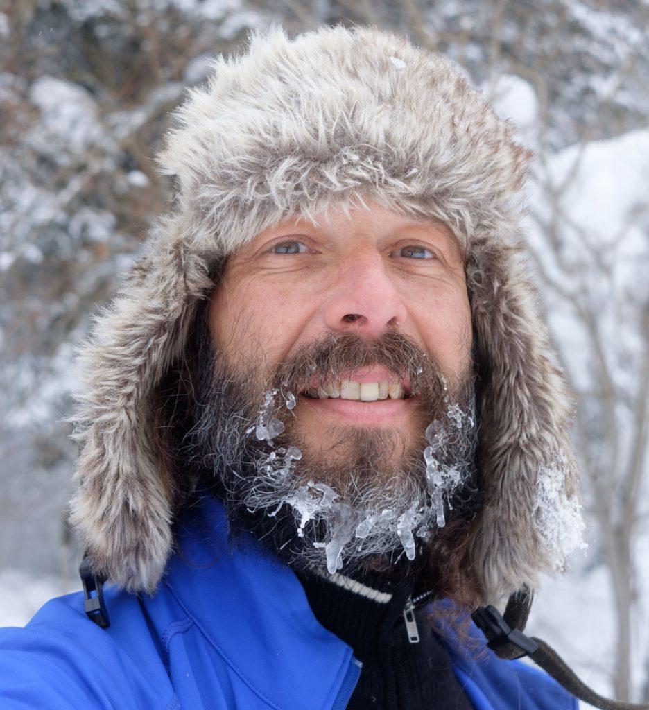 Doug, the winter bikepacking authority.