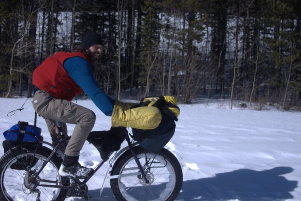 Large Pogies, expedition fatbikepacking