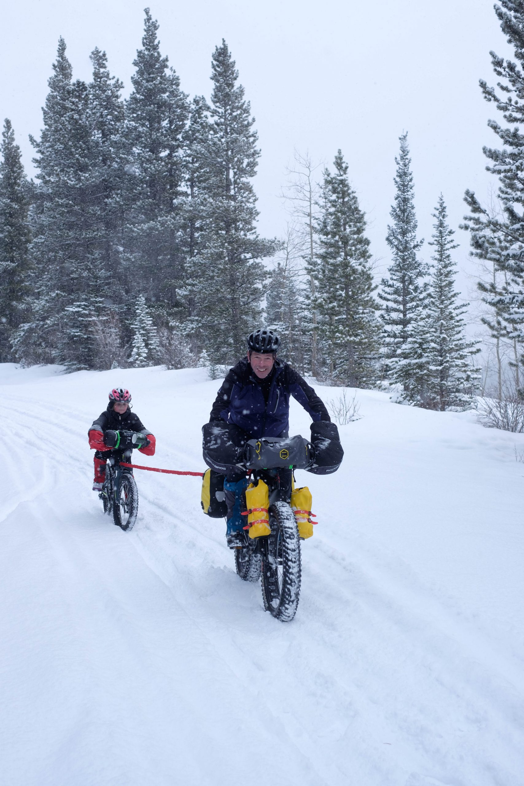 Family Fatbikepacking – Starting Them Young on the Bikepack Canada Winter Overnight