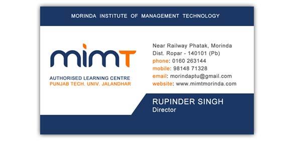 Morinda Institute Of Management Technology