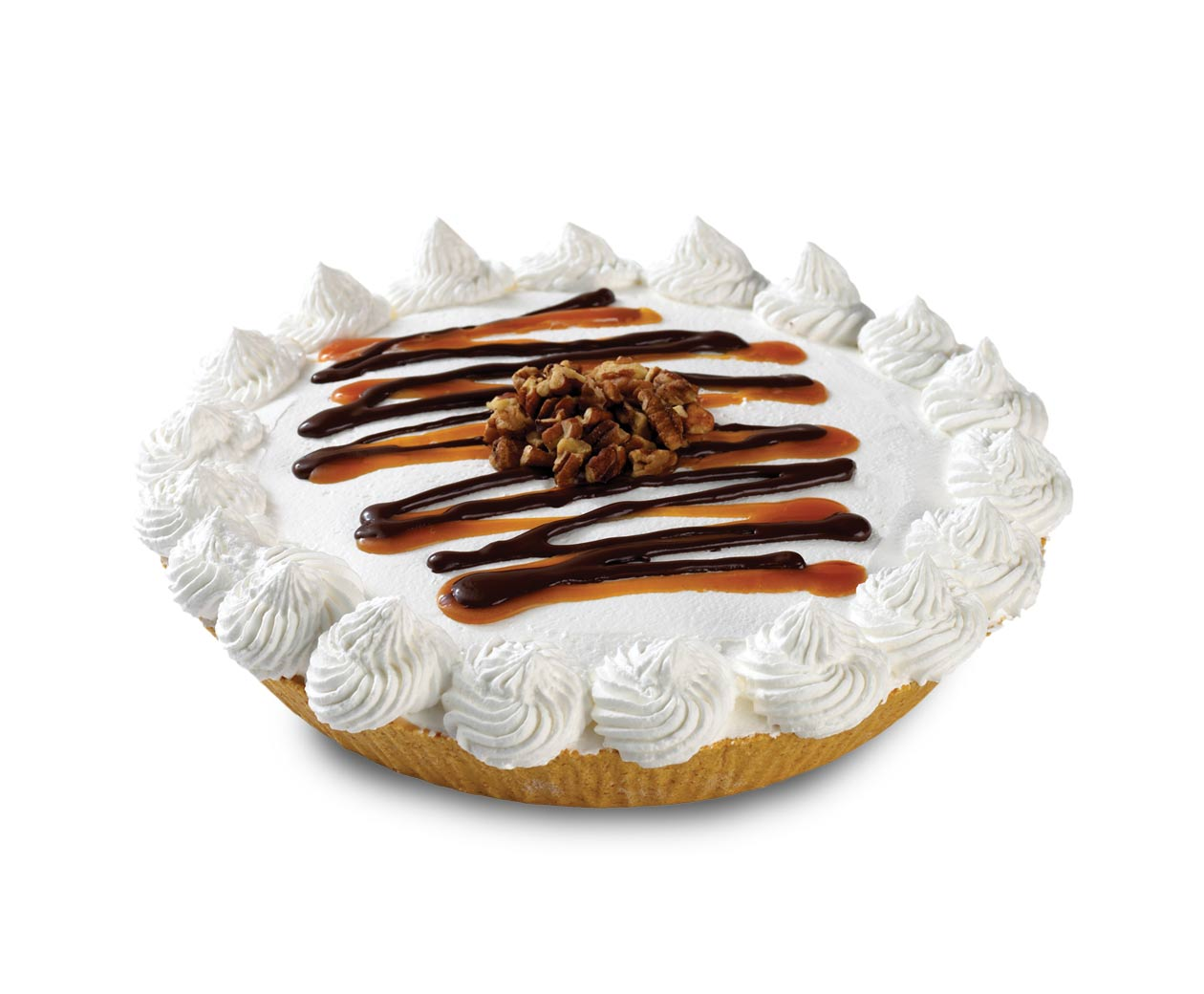 Caramel Turtle Treat Pie Signature Ice Cream Pies At Cold
