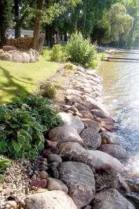 Shoreline solutions by Cold Stone Shorelines & Retaining Walls