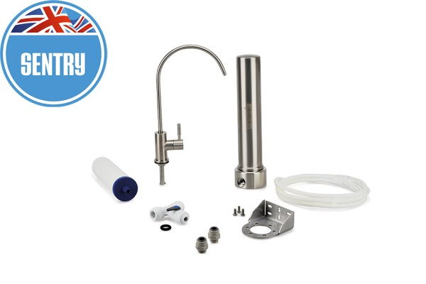 Replacement water filter. Best stainless steel water system. Undercounter water system. Best filters on the market.UK made.Free next day UK delivery.Carbon neutral. Removes more contaminants