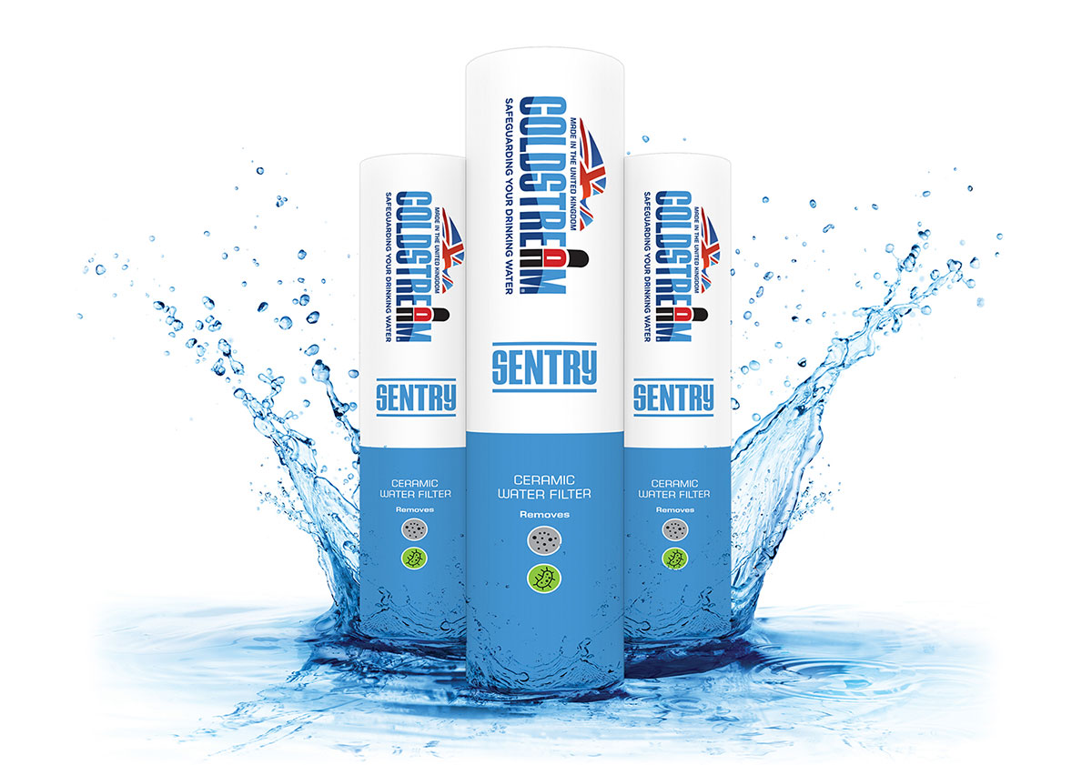 Coldstream sentry water filters