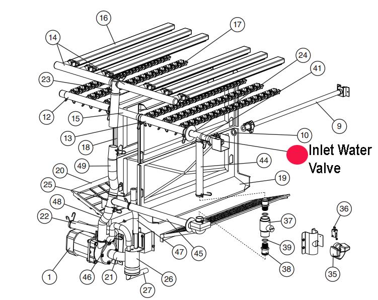 Hoshizaki 3U0111-02 Hoshizaki 3U0111-02 Water Inlet Valve