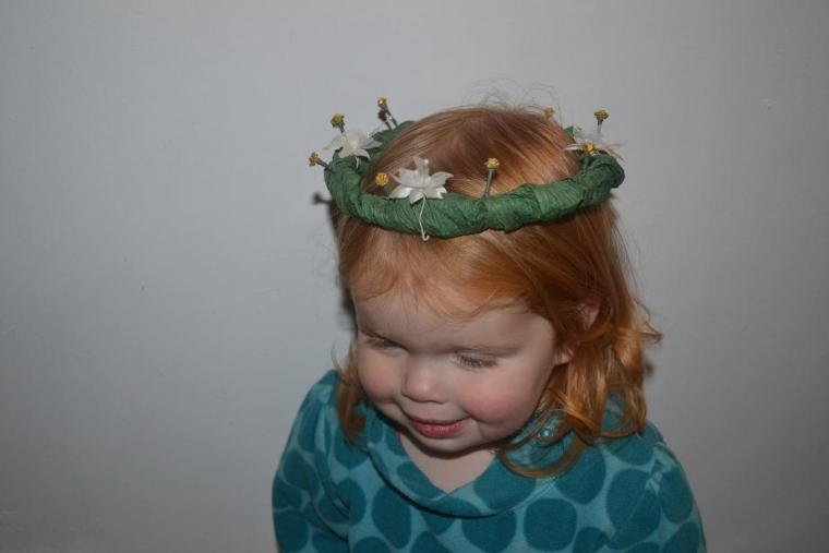 Enchanted Forest Party Homemade Crown