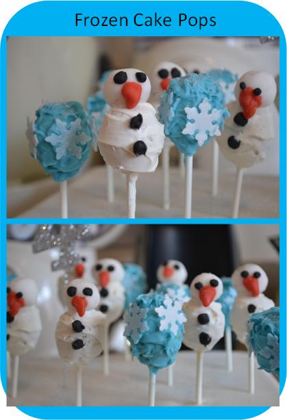 Frozen Cake Pops