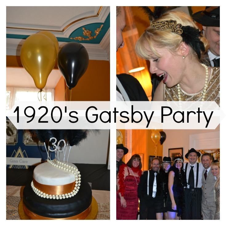 Gatsby Birthday Party