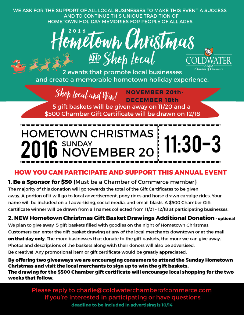 business final 800save the date hometown christmas 2016