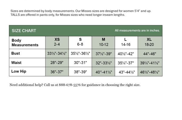 Women39s Clothing SizeSizing Chart