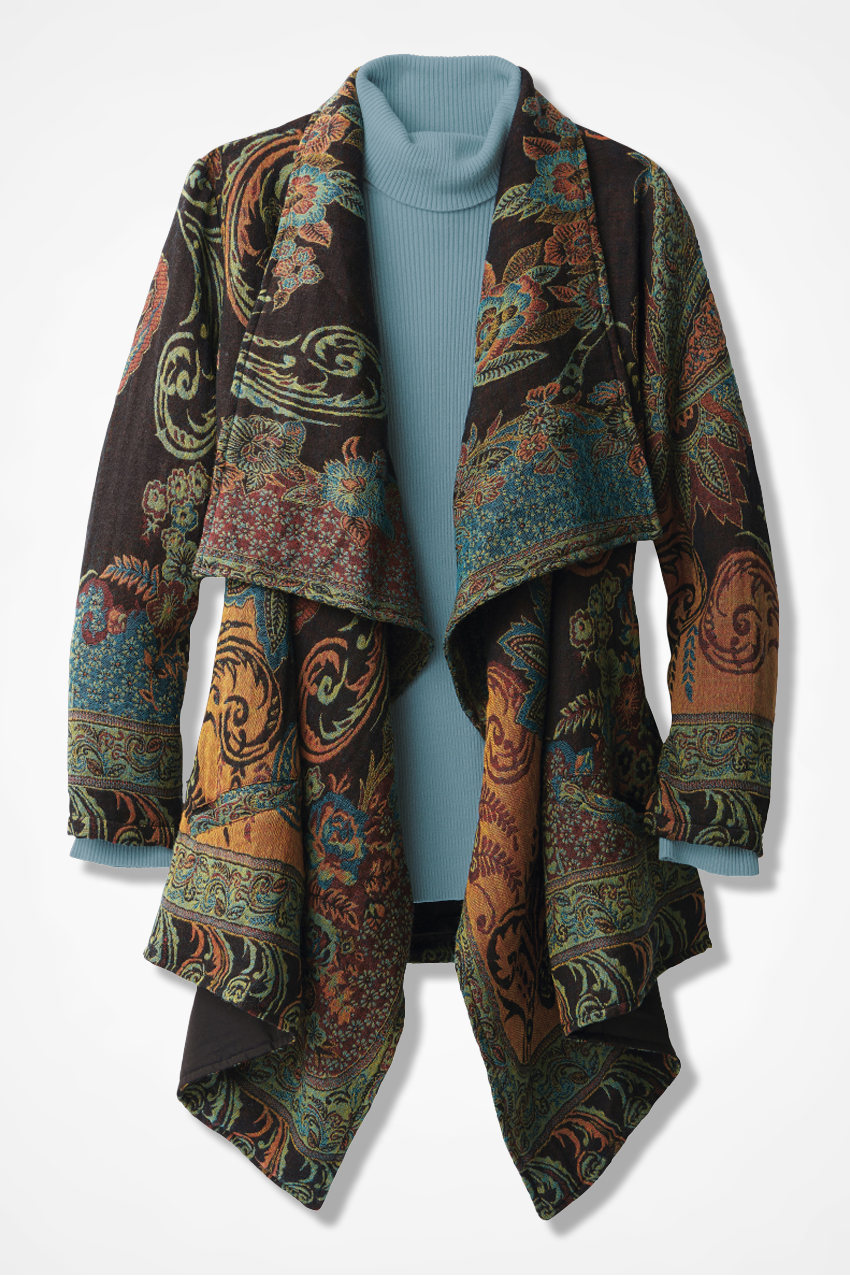 Jacquard Tapestry Jacket Coldwater Creek