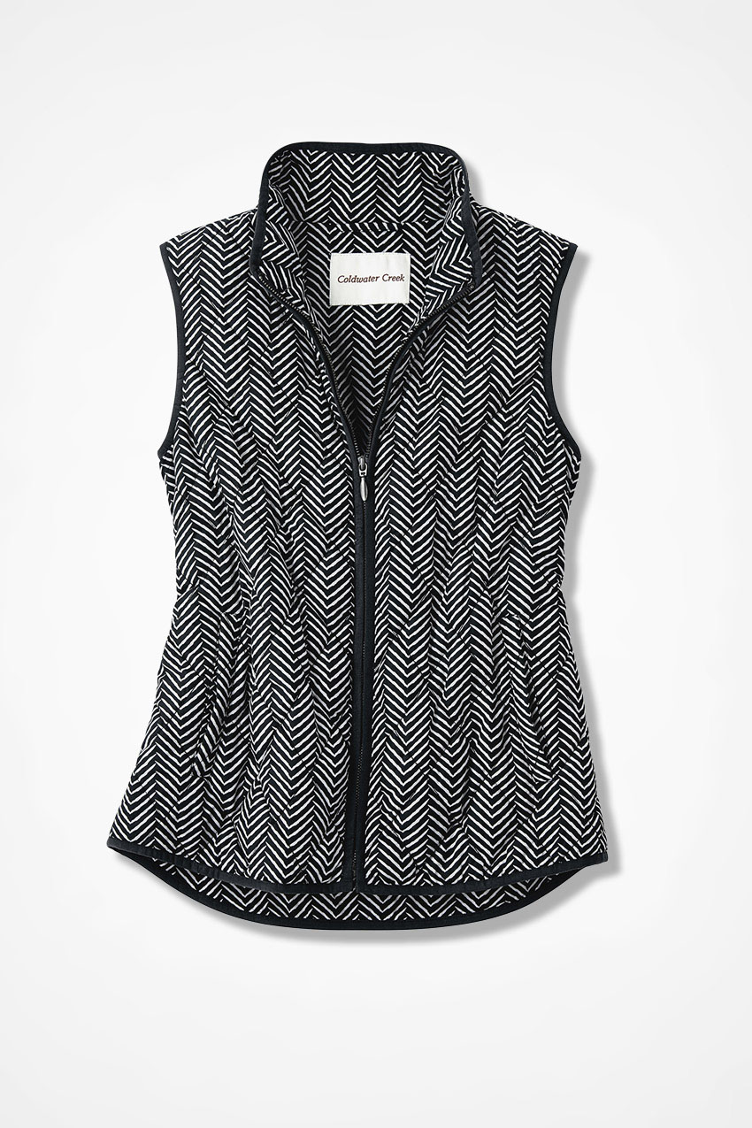 Coldwater Creek Vest For All Seasons