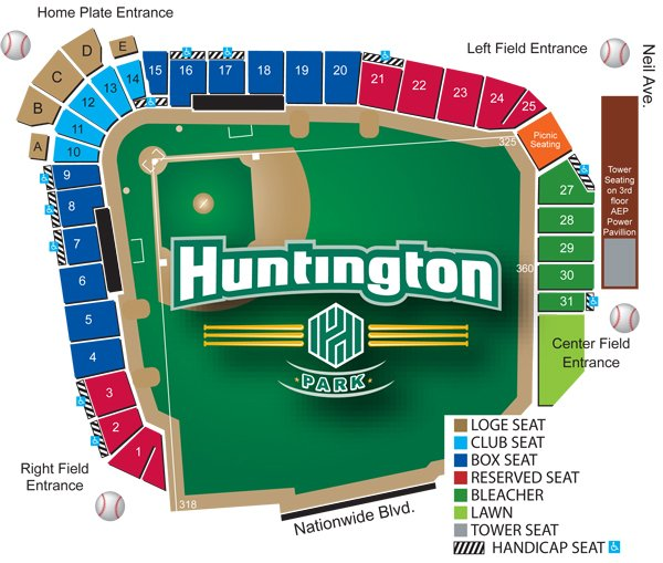 Columbus clippers seating chart central ohio lions eye bank