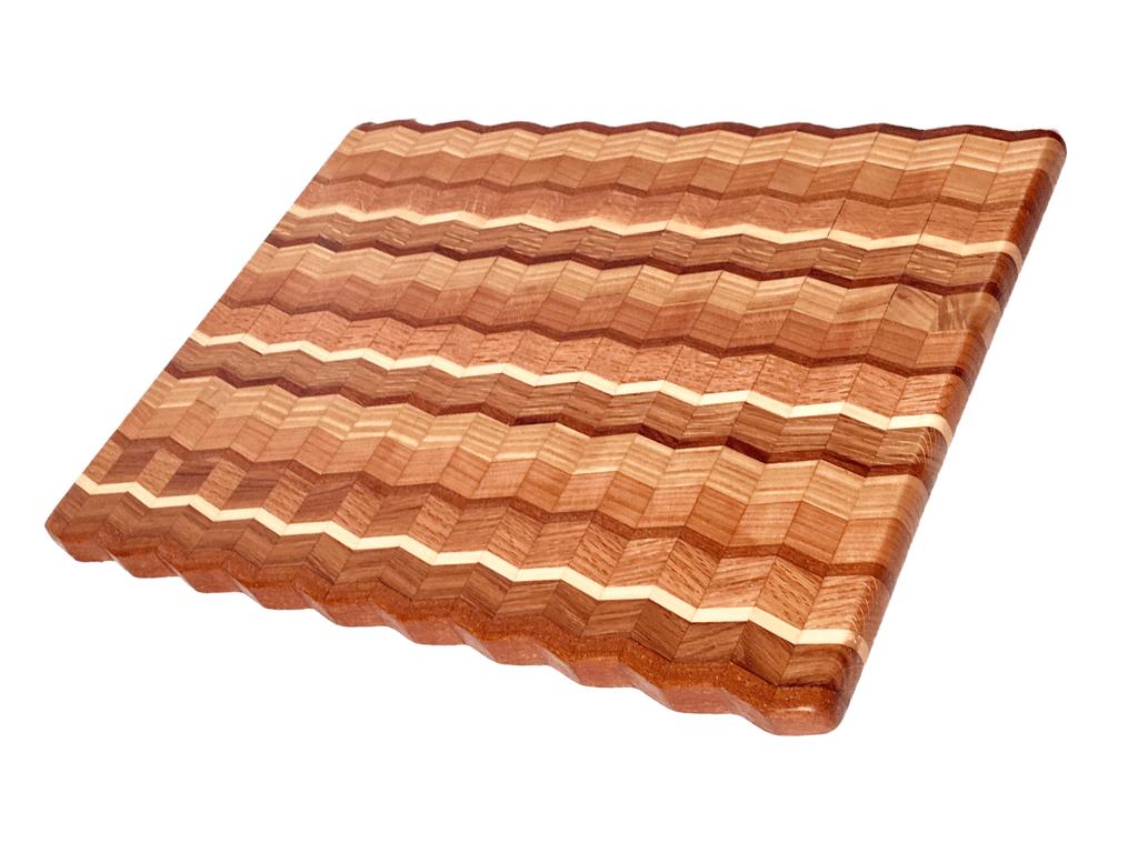 Poplar And Oak Cutting Board
