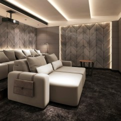 Movie Theaters With Lounge Chairs Wheelchair Repair Parts Luxury Home Cinema Seating Installation