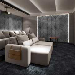 Home Cinema Sofa Seating Uk Single Without Backrest Luxury Installation