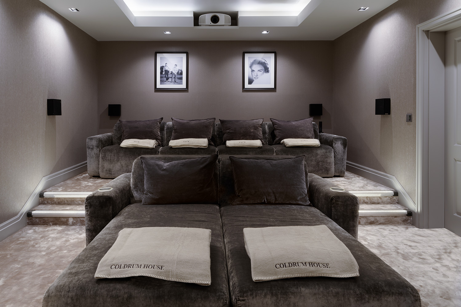 movie theaters with lounge chairs pink high luxury home cinema seating, installation & design. the perfect ...