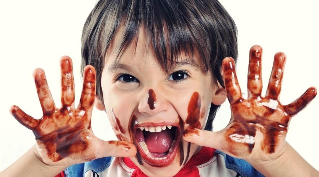 El chocolate y los niños