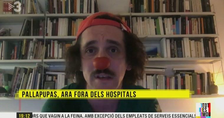 La cara amable del coronavirus: cartas y payasos para los contagiados. TV3 «Tot es mou»