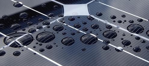 Panel solar por Oregon DOT