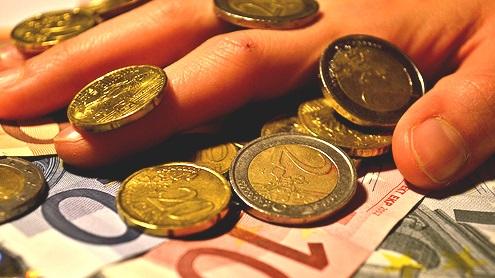 Euros por Paul Bonhomme