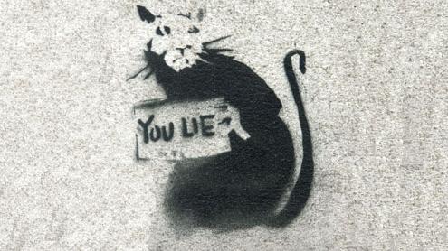 Rat por Banksy
