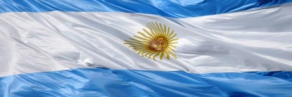 Bandera de Argentina por Lucas