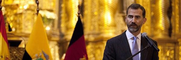 Principe Felipe por Cancilleria de Ecuador