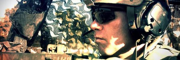 Soldado EEUU por Aaron Escobar