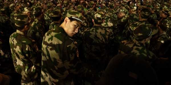 Soldado chino por Jonathan Kos-Read