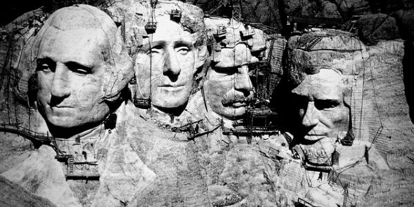 Monte Rushmore por Recuerdos de Pandora