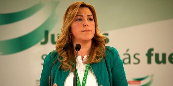Susana diaz por PSOE de Andalucia