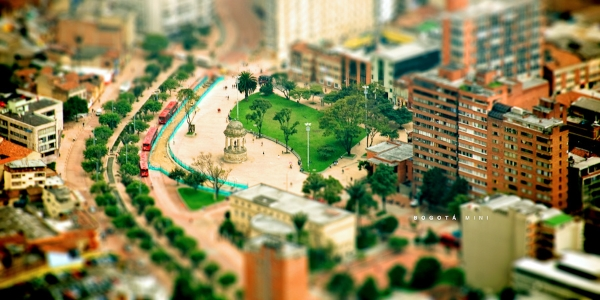 Bogota Mini por Camilo Rueda Lopez