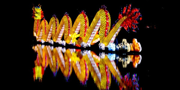 Dragon chino por MelisaTG