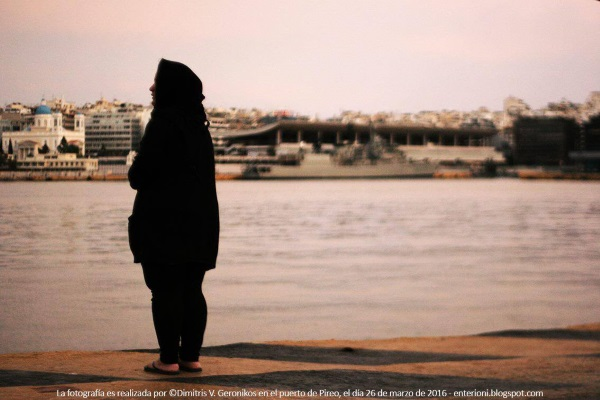 Refugiada por Monica Hidalgo