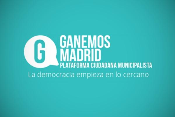 Ganemos Madrid Logo