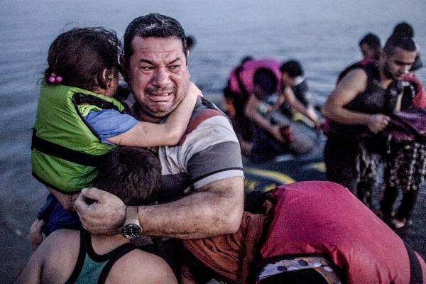 Refugiados Sirios por Freedom House