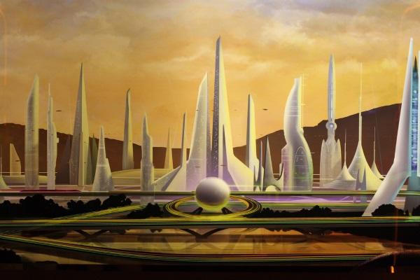 Ciudad del Futuro por Sam Howzit