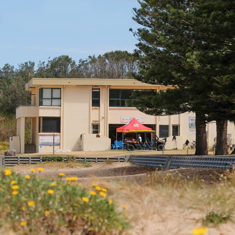 Coledale Surf Club view from beach
